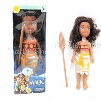 Harga HS1622A Moana Adventure Doll With Music