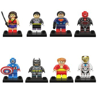 Harga Hanyu Batman vs.Superman Building Blocks Multicolor