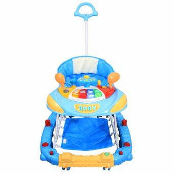 Mini SanLe 213BHP Baby 2 in 1 Walker and Rocker with Unique Handle (Blue) Price Philippines