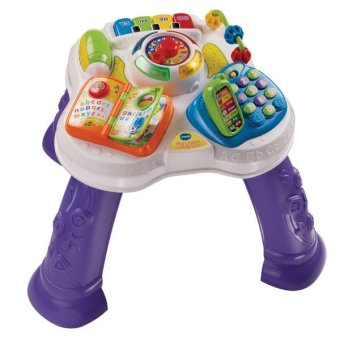 Harga VTech Play & Learn Activity Table (White/Violet)