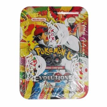 Harga Pokemon Nintendo Trading Tin Card Game PK40010