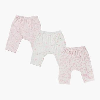 Harga Hush Hush Girls Animals Drop-crotch Pajama Set (Multicolored)