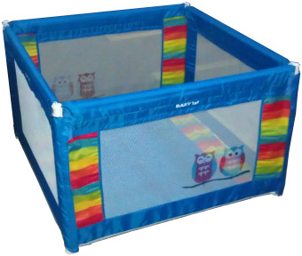 Harga Baby 1st Square Foldable Playpen P-521D BLUE A