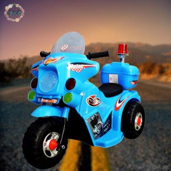 Harga D&D TC-005 Rechargeable Motor Bike Kids Ride-on Toys Police Motorcycle
