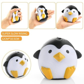 Cute Penguin Squeeze Stretch Soft Slow Rising Restore Fun Toy Gift White - intl Price Philippines