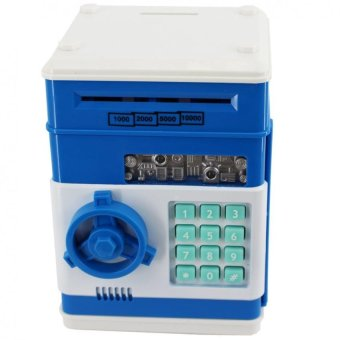 SeanSean Coins and Bills Bank Safe (Blue) Price Philippines