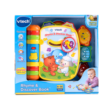 Harga VTech Baby Rhyme and Discover Book