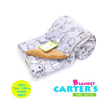Harga New 2017 Best Store Baby Shop Soft Comfortable Carter Hooded Blanket-UA154