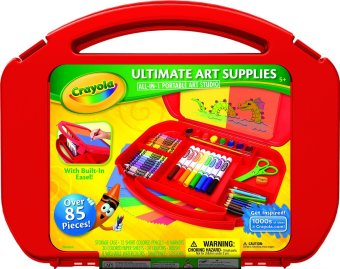 Harga CRAYOLA Ultimate Art Supplies Kit (Red)