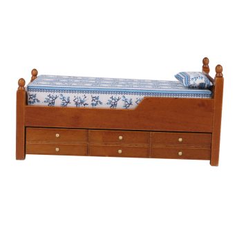Scale Furniture Miniature Wooden Drawer Bed Brown Price Philippines