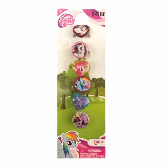 Harga My Little Pony Rings Set of 6 on a Card