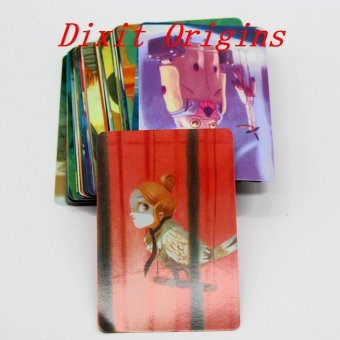 Harga Dixit Origins Memories Daydreams Expansion Board Game 84 Cards - intl