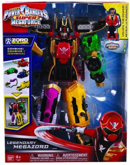 Harga Power Ranger Super Mega Force Legendary Megazord