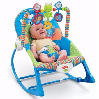 Harga Toddler Rocker Frog and Snail (Blue)