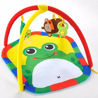 Harga Yiqu Multifunctional Baby Gym Mat with Cute FROG Design