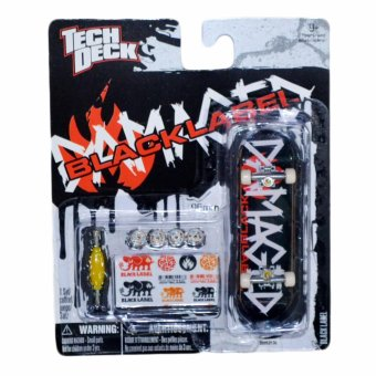 Harga Tech Deck Blacklabel 20052136 Fingerboard Skateboard Toy