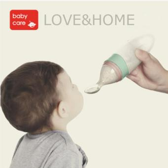 Harga LOVE&HOME Baby Food Dispensing Squeeze Spoon (Mint Green)