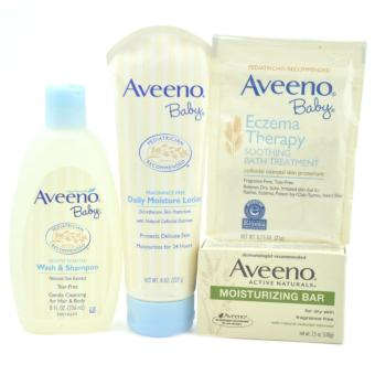 Harga AVEENO Baby Bundle Bath Collection