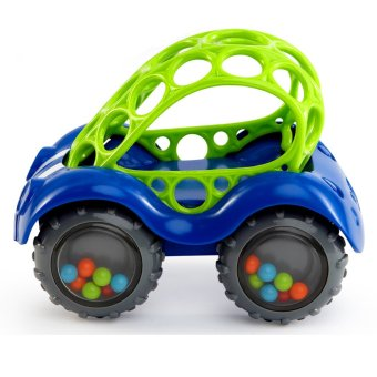 Harga Bright Starts Rock & Roll Cars - Blue