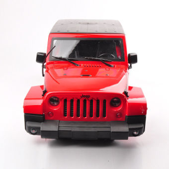 Harga 1:10 Hard Plastic BODY SHELL Red for RC Model Climbing Car Land Rover Wrangler