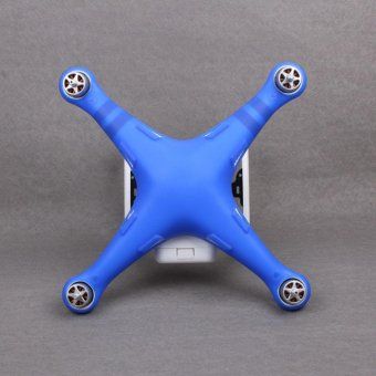 For DJI Phantom 3 Drone Waterproof Dustproof Scratchproof Silicone Protective Blue - intl Price Philippines