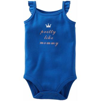 Carter's Flutter Sleeve Bodysuit - Pretty Like Mommy (3 Months) Price Philippines