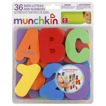 Harga Munchkin Bath Letters and Numbers