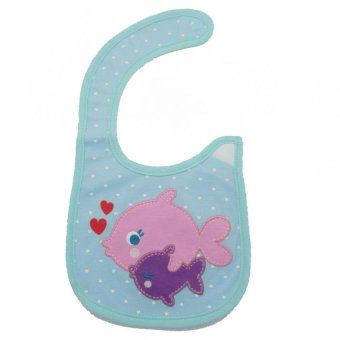 Harga Happy Baby Waterproof Bib (Fish)
