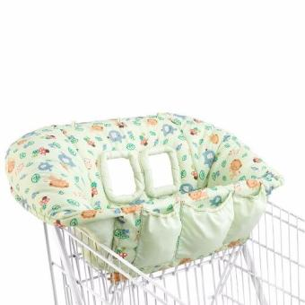 Harga Bright Starts Cozy Cart Cover - In The Zoo
