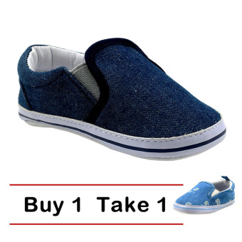 Harga BABY STEPS Buy One Bright (Blue) Take One Bright Floral (Blue)