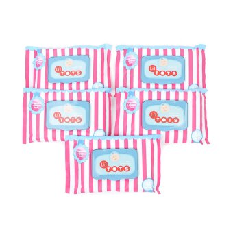 Harga Li'l Tots Baby Wipes 40's Pack of 5