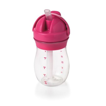 Harga OXO Tot Grow Straw Cup 9 oz.pink