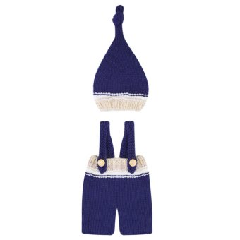 Harga Newborn Baby Girls Boys Crochet Knit Costume Photo Photography Prop