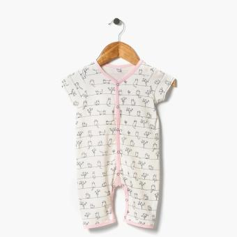 Harga Hush Hush Girls Kitty Allover Bodysuit (Cream)