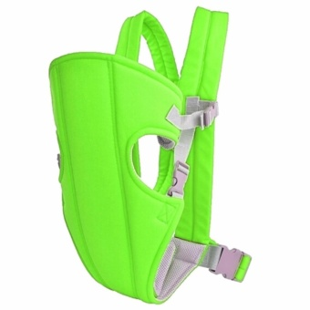 Harga GMY Adjustable Sling Wrap Rider Infant Baby Carrier (Green)