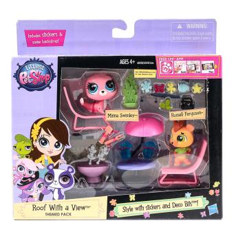 Harga My Littlest Petshop Roof with a View Themed Pack