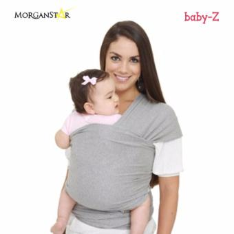 Harga Eco Cub Moby Baby Wrap Carrier for Comfortable Baby Wearing (light gray)