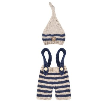 Harga Newborn Baby Girls Boys Photography Prop Crochet Knit Costume -