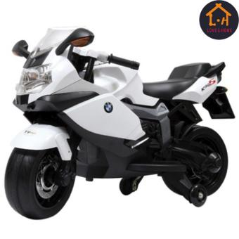 Harga LOVE&HOME BMW Ride-On Motorcycle for Kids (White)