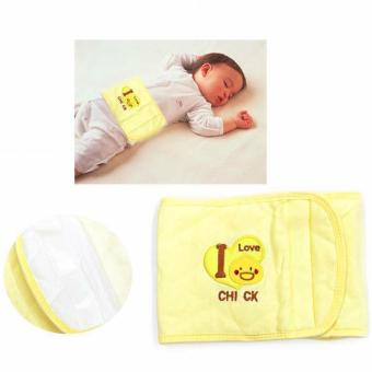 Harga Adjustable Baby Warm Belly Band (Yellow Chick)