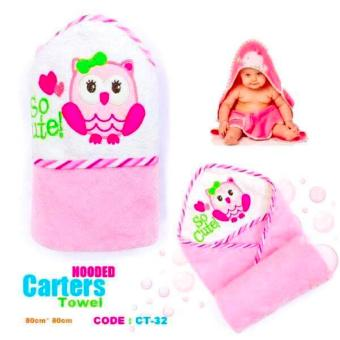 Harga Best Store Baby Shop Carter Hooded Towel (Pink)