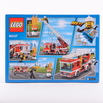 Harga LEGO CITY Fire Ladder Truck 60107