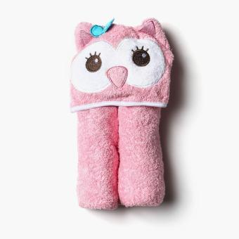 Harga Hush Hush 30x36 Bird Hooded Towel (Pink)