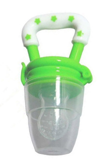 Harga Fancyqube Weaning Tool Food Feeder For Baby Green