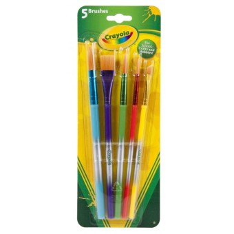 Harga CRAYOLA 5ct Art & Craft Brush