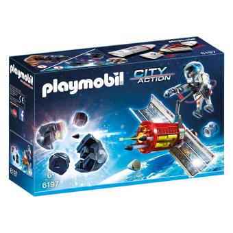 Harga Playmobil City Action Satellite Meteoroid Laser