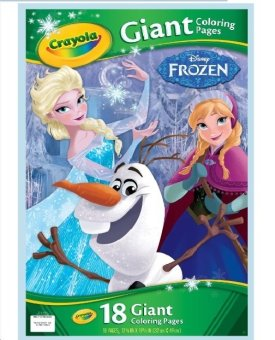 Harga CRAYOLA Giant Sized Frozen Coloring Pages