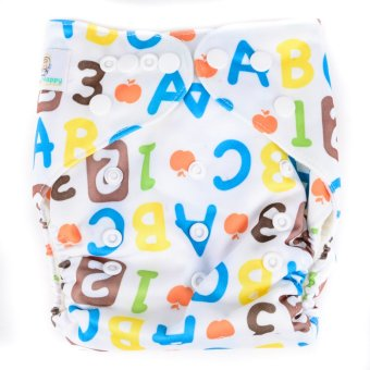 Harga Happy Nappy ABC Cloth Diaper with Insert
