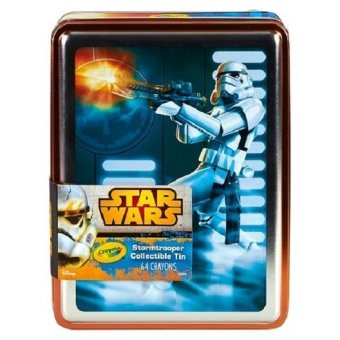 Harga CRAYOLA Star Wars Stormtrooper Collectible Tins w/ 64ct Crayons