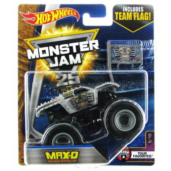 Hot Wheels 1:64 Monster Jam - Max D Price Philippines